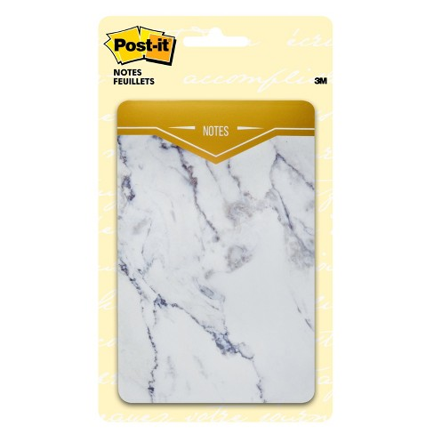 Post It Notes With Marble Cover Target