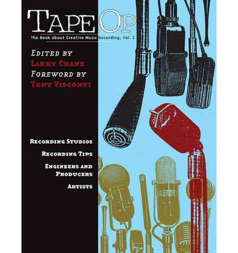 Book About Creative Music Recording -  (Paperback) - image 1 of 1