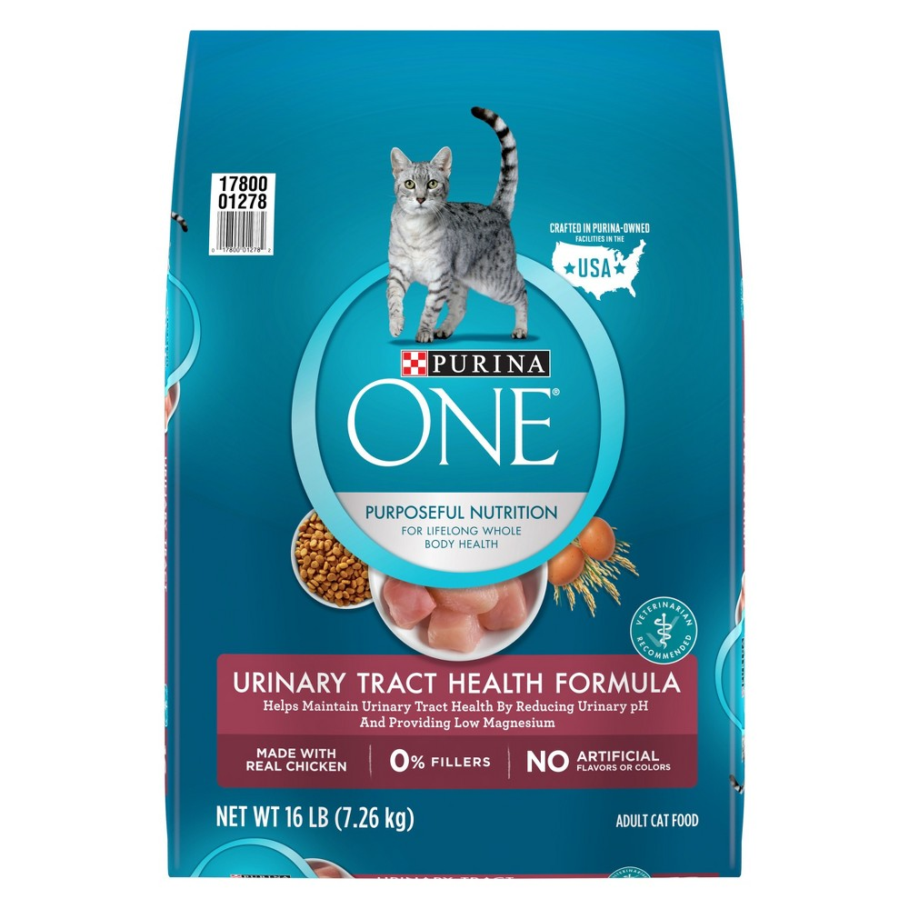 Purina One Urinary Tract Health Formula Adult Premium Dry Cat Food - 16lbs