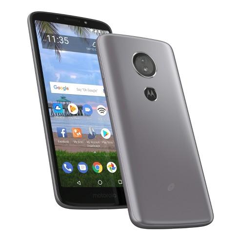 Simple Mobile Prepaid Motorola E5 (16GB) - Dark Gray