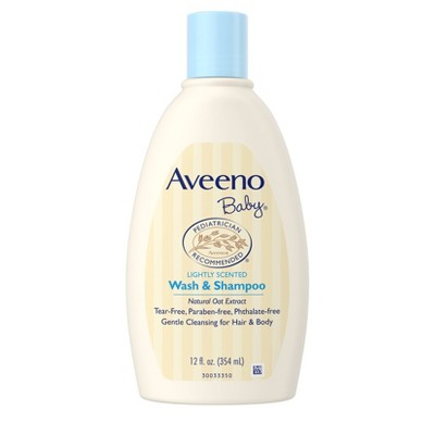 Aveeno Baby Wash and Shampoo - 12.0oz