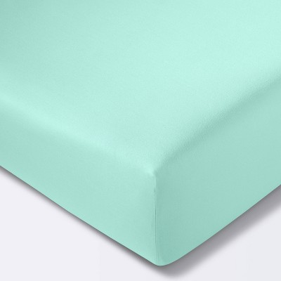 Fitted Crib Sheet Solid - Cloud Island™ Mint