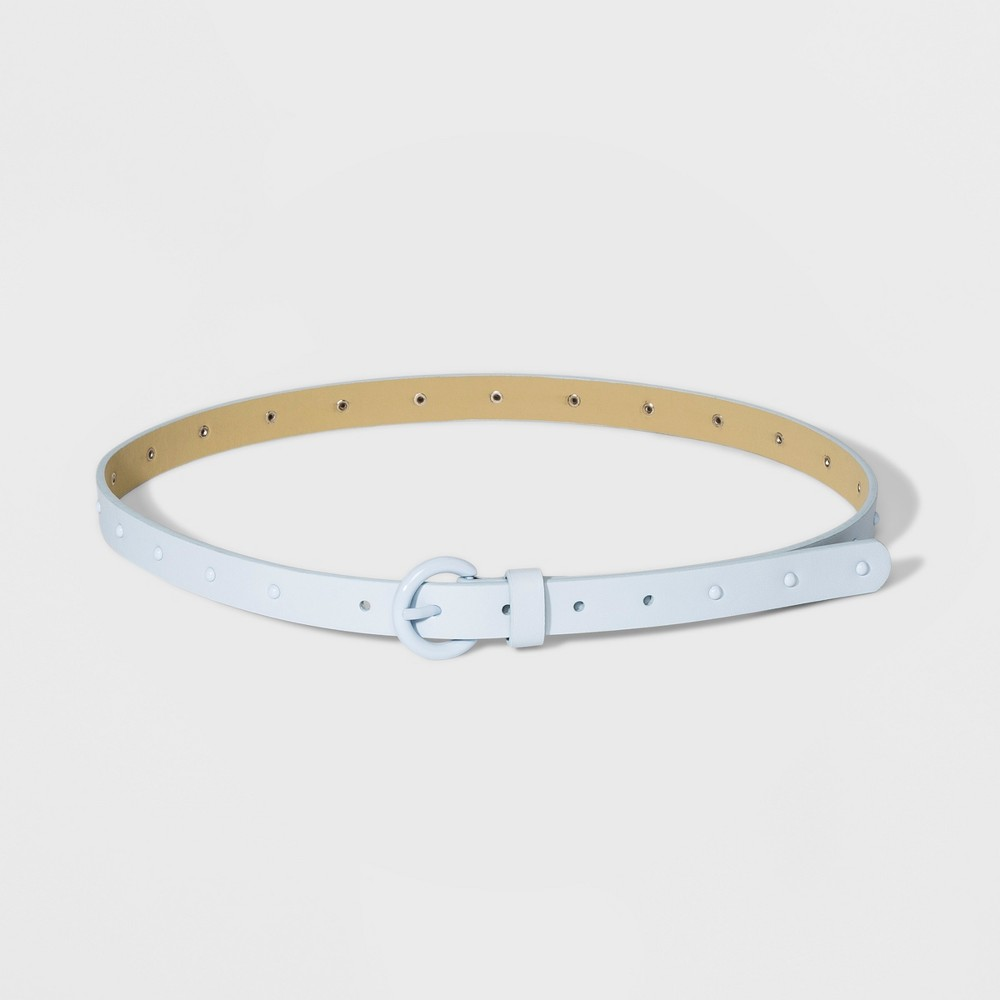 Women's Stud Ring Belt - A New Day Blue Xxl