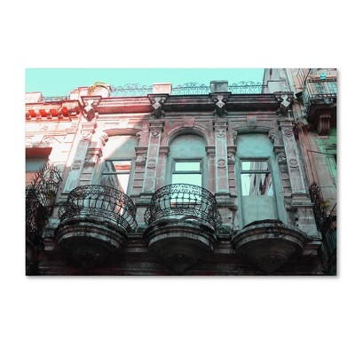 "30"" x 47"" Havana Art Deco by Masters Fine Art - Trademark Fine Art"