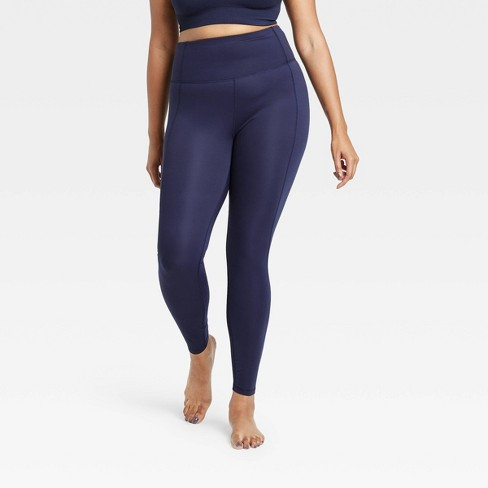 Women's Contour Power Waist High-Waisted Leggings - All in Motion™ - image 1 of 4