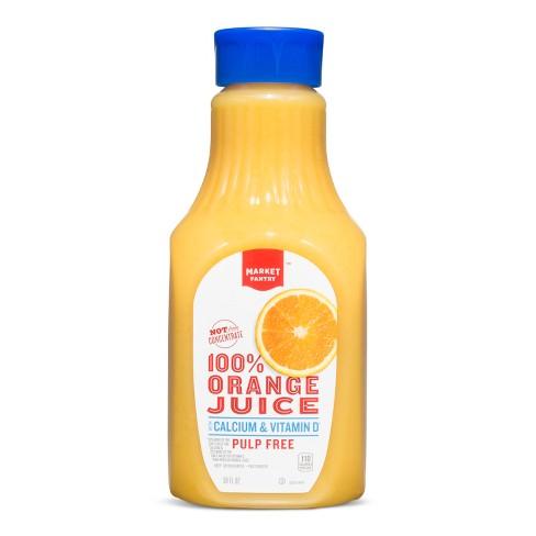 Calcium & Vitamin D Orange Juice - 59 fl oz - Market Pantry™ - image 1 of 1