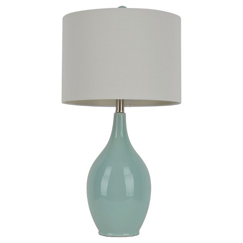 "Ceramic Table Lamp - 27""H - Blue/White - image 1 of 3"
