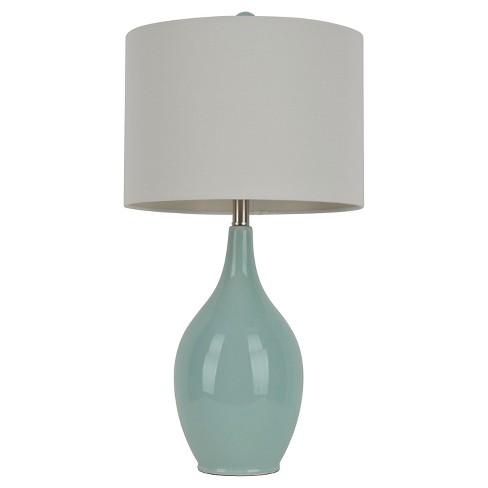 Ceramic Table Lamp 27h Bluewhite Target