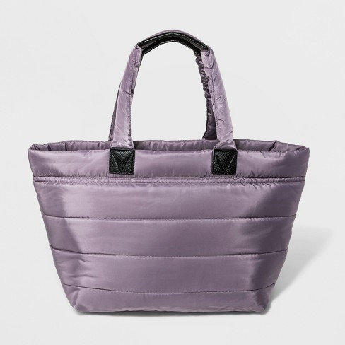 a4770035fc6d Soft Amethyst Puffer Weekender Bag - A New Day™ Purple   Target