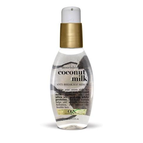 OGX Coconut Milk Anti-Breakage Serum - 4oz - image 1 of 4
