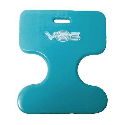 Vos Oasis Water Saddle Swimming Pool Float Lounge Seat for Adults & Kids, Made with UV Resistant Foam for Single Rider Floating, Barrier Blue