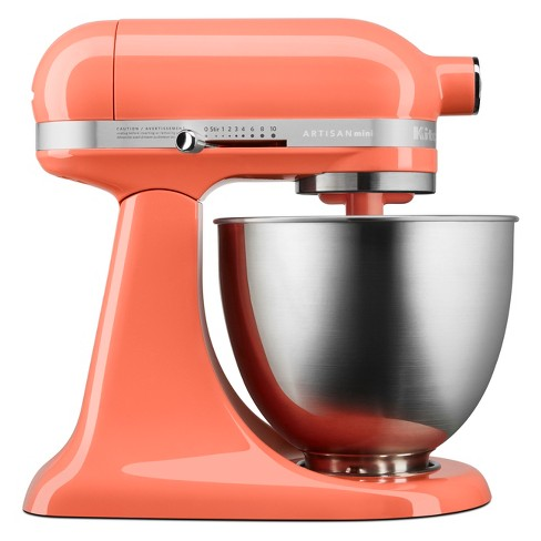 KitchenAid 3.5qt Artisan Mini Tilt-Head Stand Mixer Bird of Paradise -  KSM3311XPH