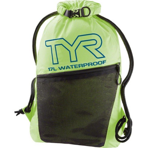 TYR Alliance Waterproof Sackpack: Fluorescent Yellow - image 1 of 1