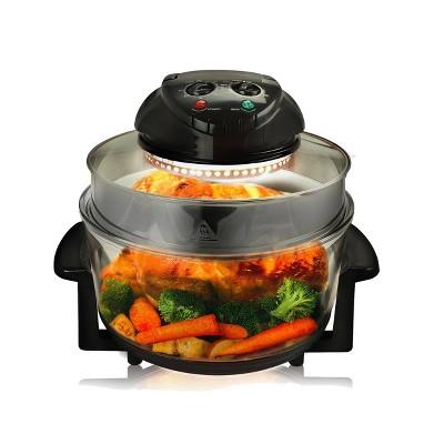MegaChef Multipurpose Countertop Air Fryer Oven - Black