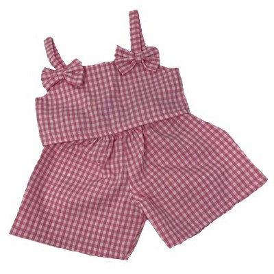 Doll Clothes Superstore Darling Pink Shorts Fit Big Baby Dolls