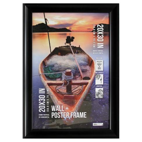 poster frame 2 5 profile black 20 x30 target