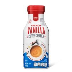 French Vanilla Coffee Creamer - 15oz - Market Pantry™