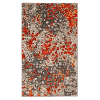 Zoey Shapes Splatter Loomed Area Rug - Safavieh