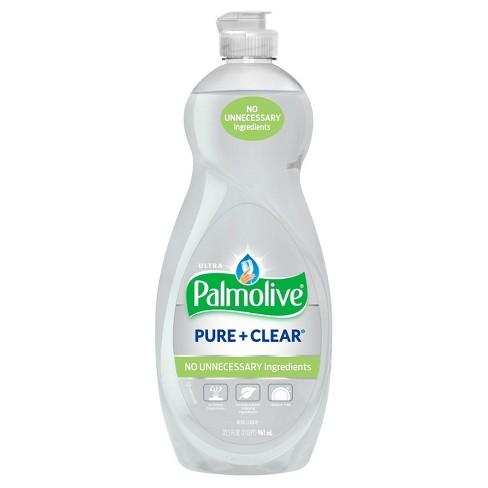 Palmolive Ultra Pure + Clear Liquid Dish Soap - 32.5 fl oz - image 1 of 3