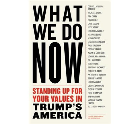 What We Do Now : Standing Up for Your Values in Trump's America (Paperback) - image 1 of 1