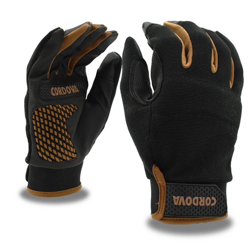 Cordova Safety Products M Synthetic Leather With Raised Silicone Palm