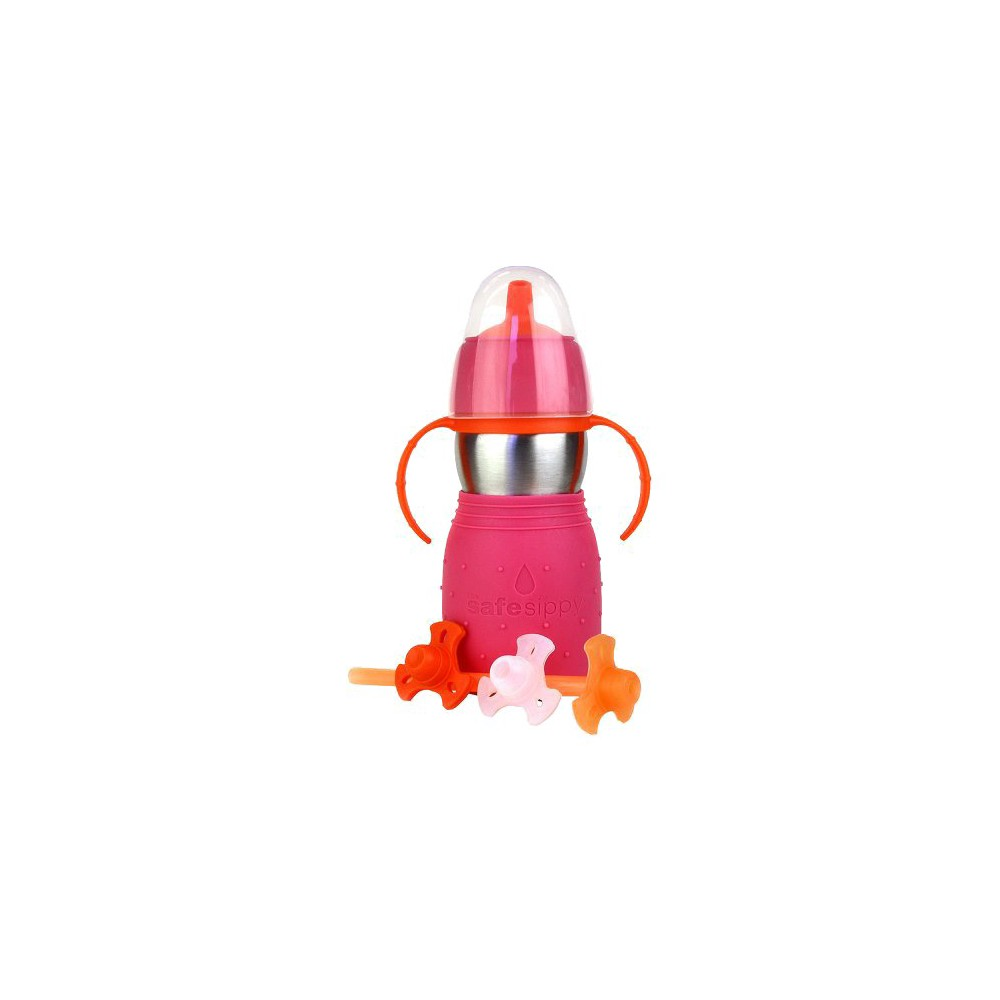 Image of Kid Basix Safe Sippy2 Pink