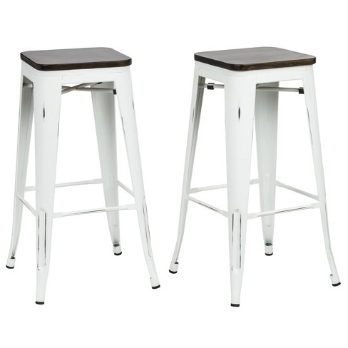 """Set of 2 Emil 30"""" Square Counter Stool - Carolina Chair & Table - image 1 of 2"""