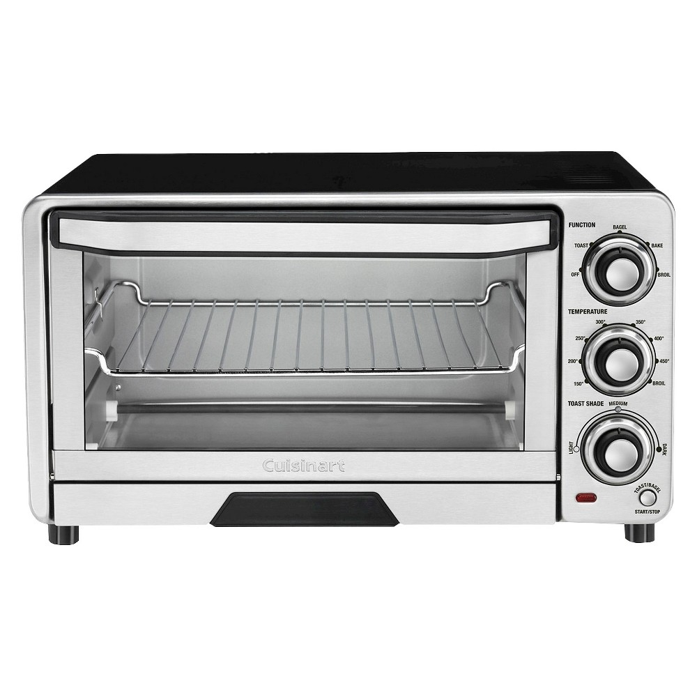 Cuisinart Custom Classic Toaster Oven/Broiler – Stainless Steel (Silver) Tob-40N 16331821