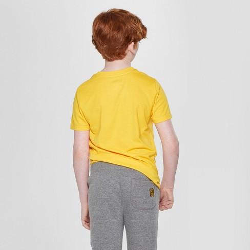 4ebb4e95e Boys' Harry Potter Hufflepuff Short Sleeve Graphic T-Shirt - Yellow ...