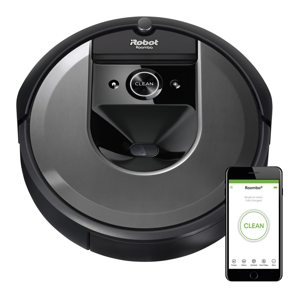 iRobot Roomba i7 (7150) Wi-Fi Connected Robot Vacuum, Almost Black