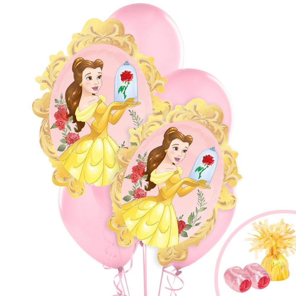 Beauty and the Beast Jumbo Balloon Bouquet