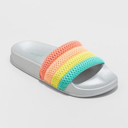 Girls' Maria Slide Sandals - Cat & Jack™ - image 1 of 4