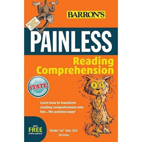 """Painless Reading Comprehension - (Barron's Painless) 3 Edition by  Darolyn """"Lyn"""" Jones (Paperback) - image 1 of 1"""