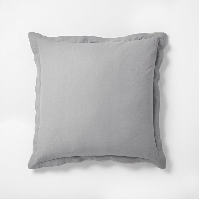 Euro Pillow Gray - Hearth & Hand™ with Magnolia