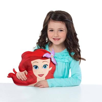 The Little Mermaid Ariel Character Head Plush
