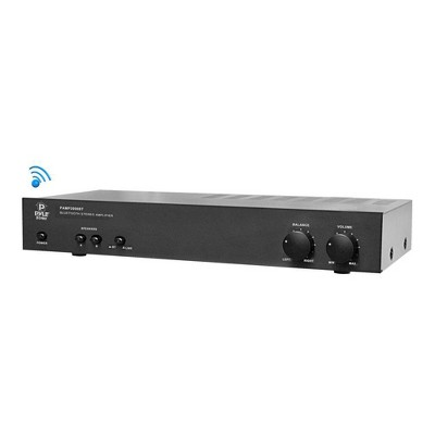 Pyle Home PAMP2000BT Powerful Performance 240 Watt Bluetooth Wireless Stereo Power Amplifier Receiver Box Dual Channel Sound System Unit