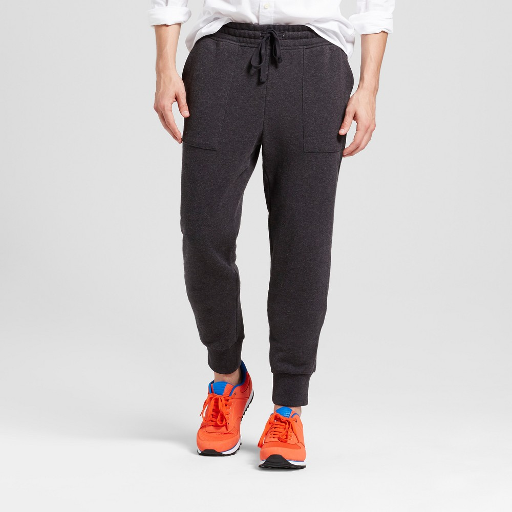 Men's Jogger Pants - Goodfellow & Co Heather Gray L