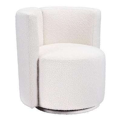 Palm Accent Chair White - ZM Home