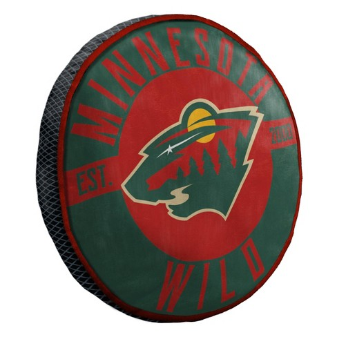 NHL Minnesota Wild Cloud Pillow - image 1 of 3