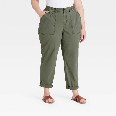 Women's Plus Size Casual Pants - Ava & Viv™