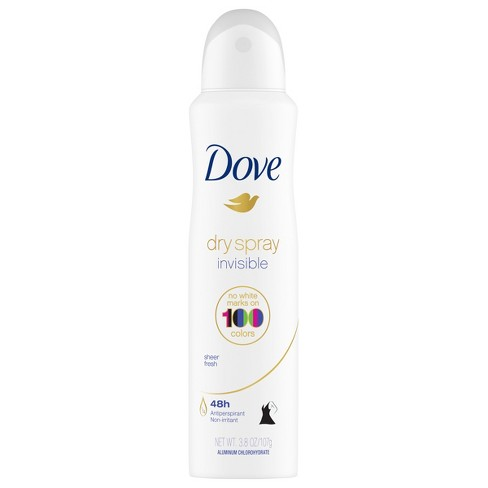 Dove Sheer Fresh 48 Hour Invisible Antiperspirant Deodorant Dry Spray 3 8oz Target