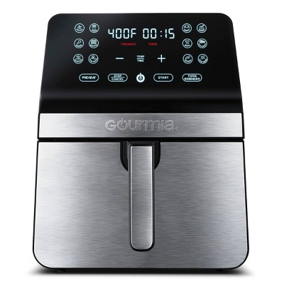 Gourmia 8-Quart Digital Air Fryer, with 12 One-Touch Functions & Guided Cooking