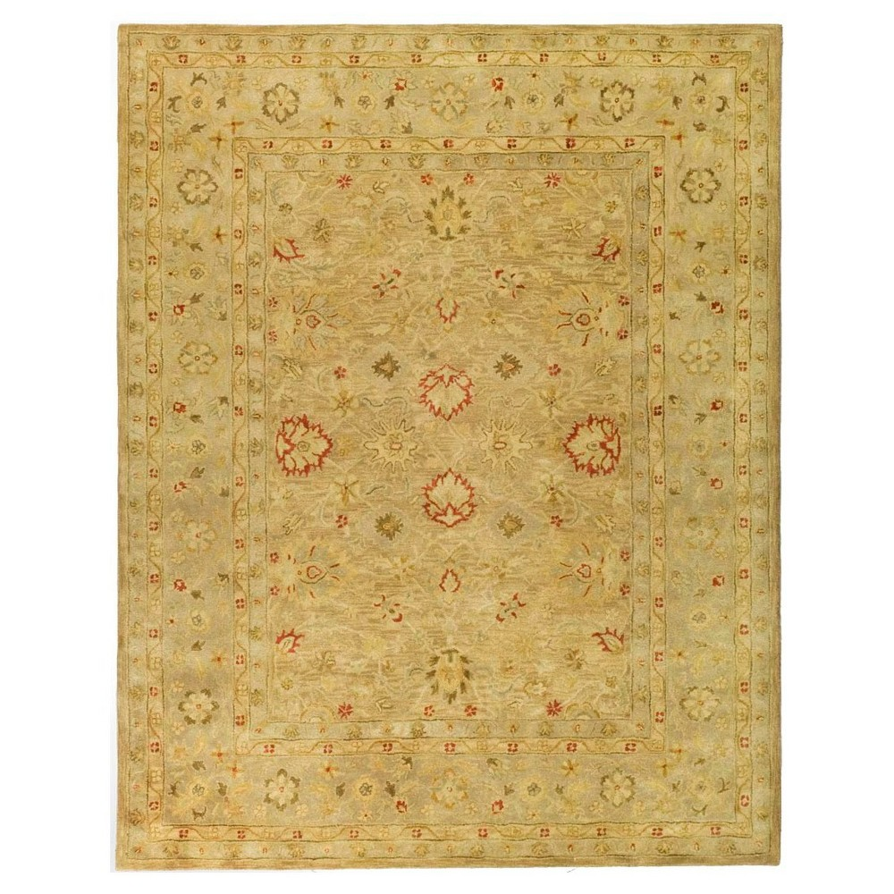 Brown/Beige Floral Tufted Area Rug 8'X10' - Safavieh