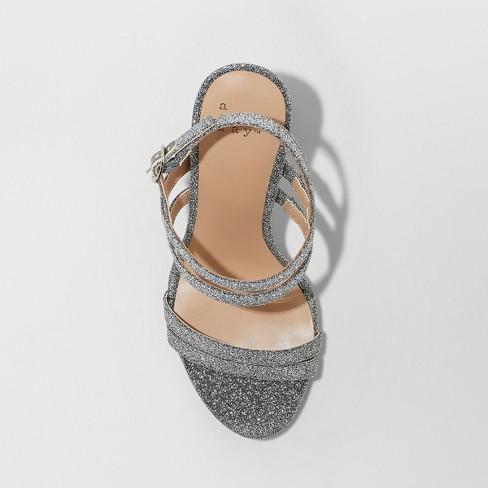 9ed74dd47 Women's Estella Strappy Stiletto Heeled Sandal Pumps - A New Day™. Shop all  A New Day