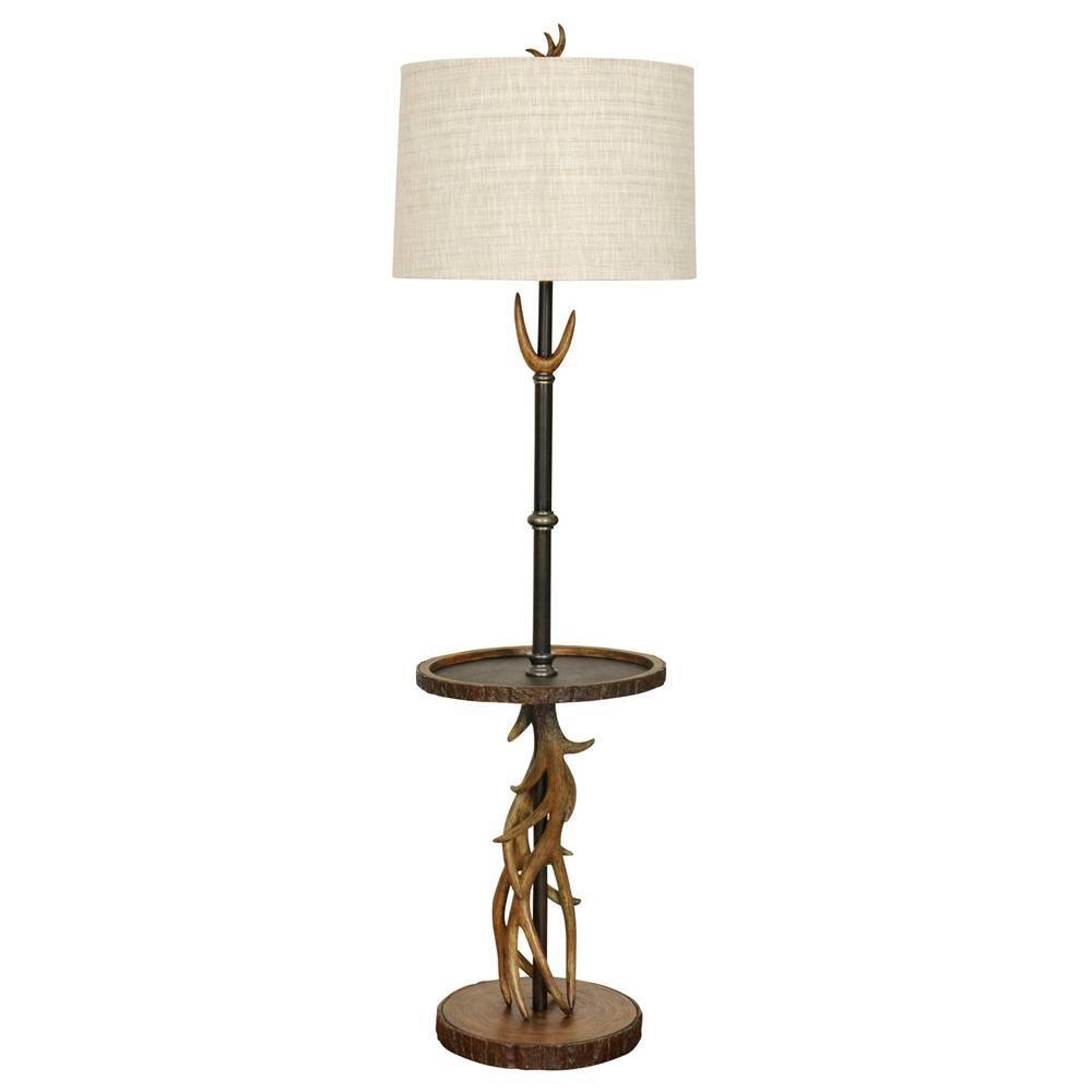 William Magnum Southern Pines Floor Lamp Brown (Includes Light Bulb) - StyleCraft