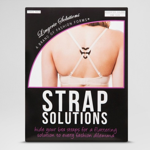 Fashion Forms Women's Strap Solutions - 3 Pack - image 1 of 2
