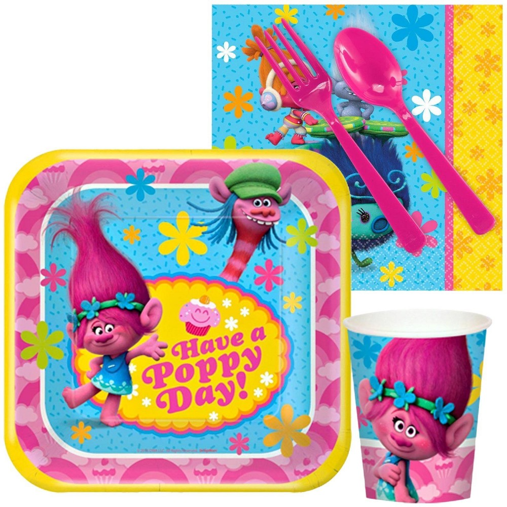 16ct Trolls Snack Party Pack, Multi-Colored