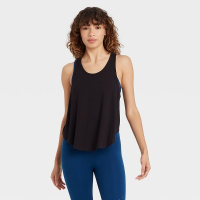 Women's Ribbed Racerback Tank Top - JoyLab™