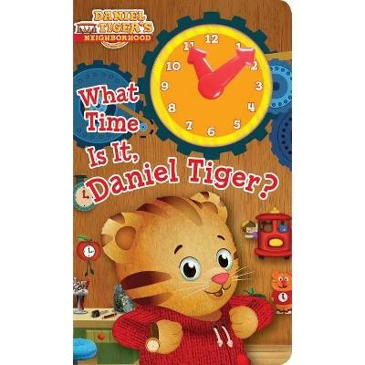 What Time Is It, Daniel Tiger? - (Daniel Tiger's Neighborhood) (Board Book)