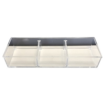 Modular In Drawer Storage Tray Clear Small - Room Essentials™